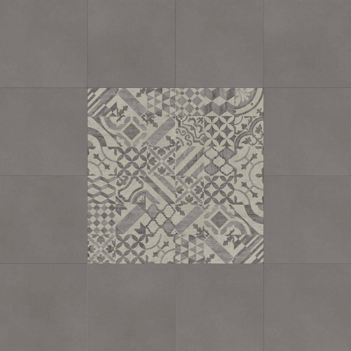 Kombination tile-L und craft