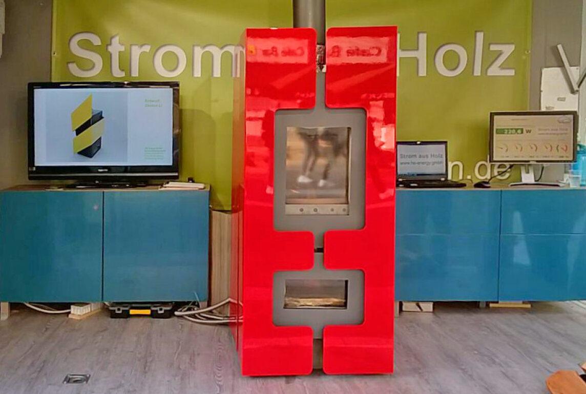 strom aus holz teil 2 e kaminofen mit holzvergasertechnik und thermo elektrischem generator. Black Bedroom Furniture Sets. Home Design Ideas