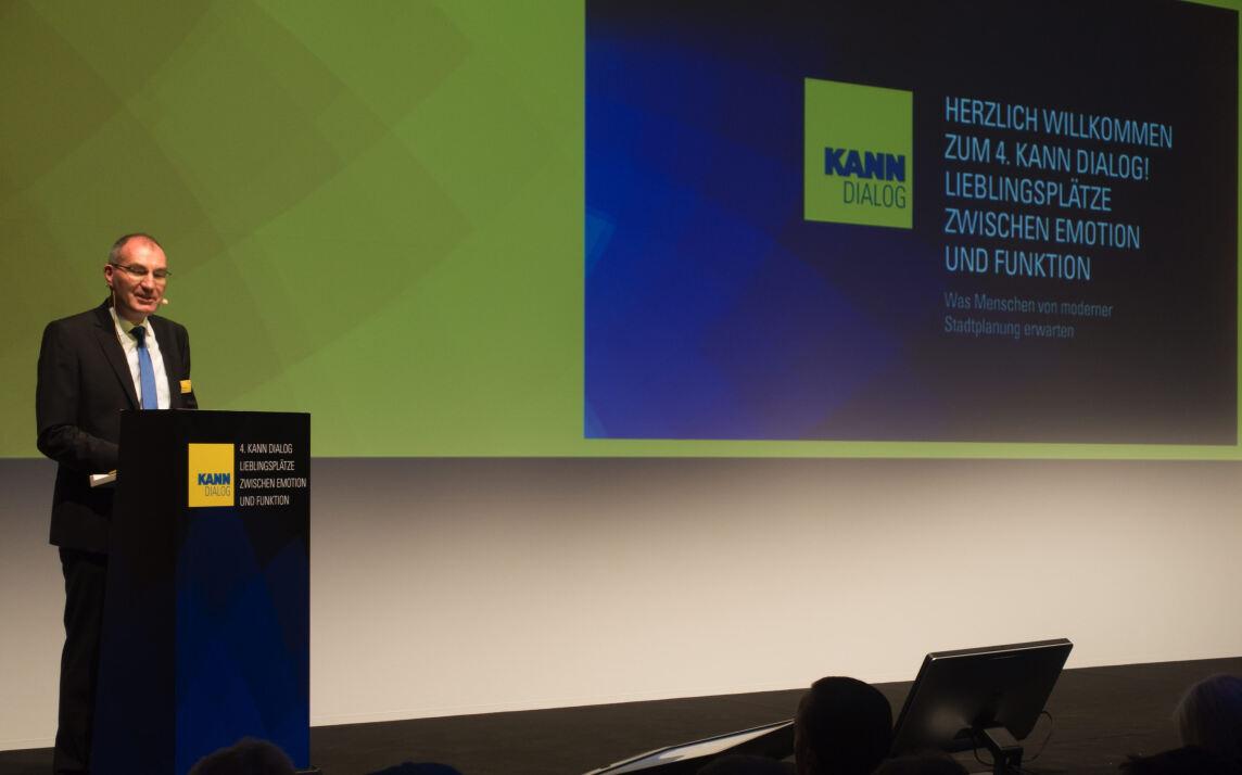 Frank Wollmann, Geschäftsführer der Kann GmbH Baustoffwerke