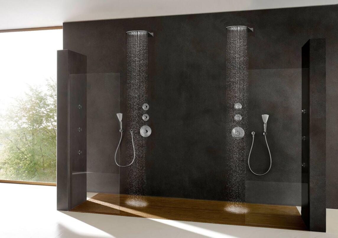 bemerkenswert flache kopfbrausen f r die wandmonatage neu. Black Bedroom Furniture Sets. Home Design Ideas