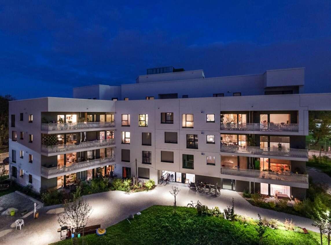 Gemeinschaftlich nachhaltig bauen – wagnisART, München (Foto © Julia Knop)