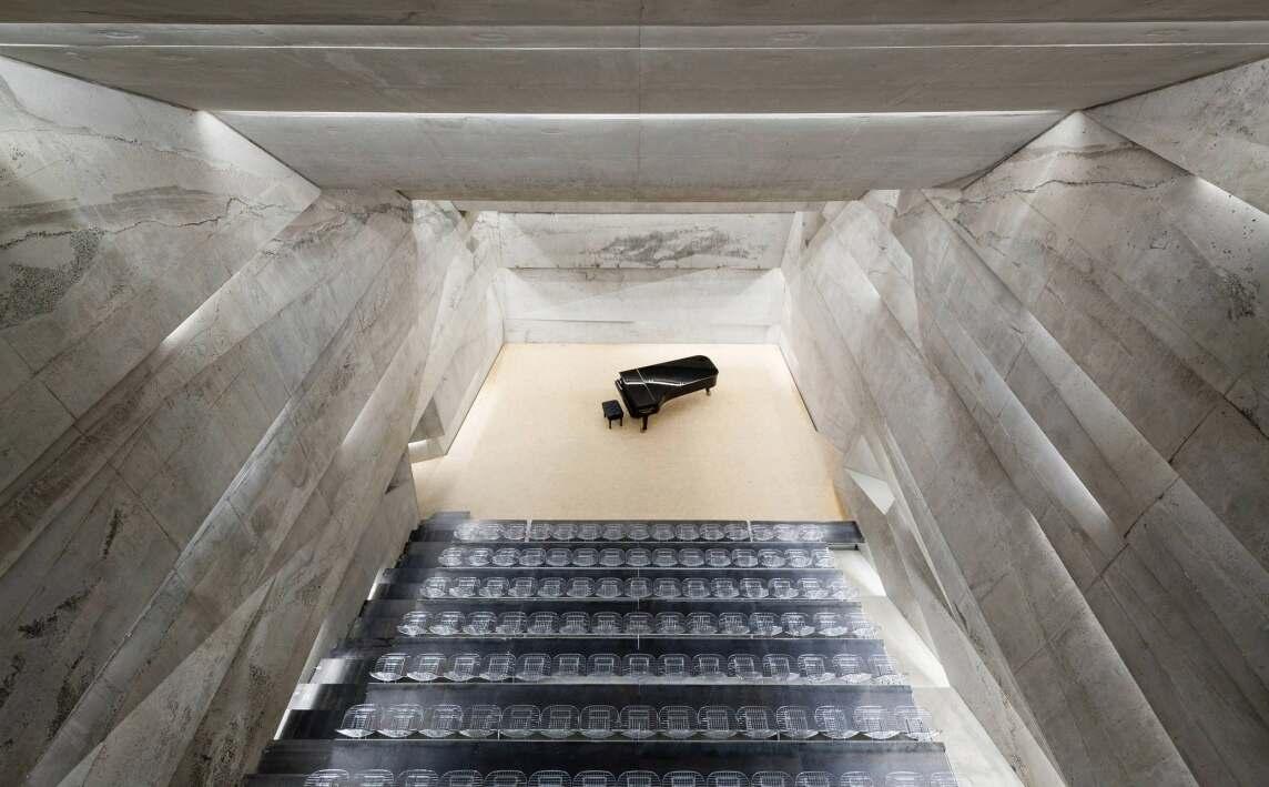 Konzerthaus Blaibach | Peter Haimerl . Architektur (Foto © Beierle)