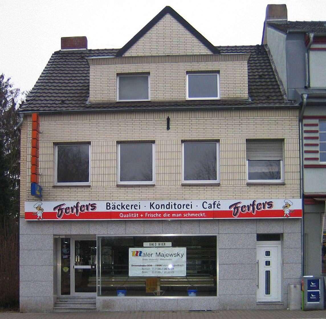 Sanierung einer Bäckerei in Mönchengladbach (Fotos © Elmar Wolff, Freital)