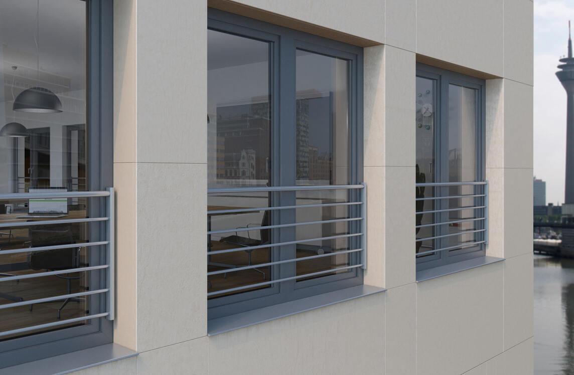 absturzsicherungen f r bodentiefe sch co kunststoff fenster franz sischer balkon. Black Bedroom Furniture Sets. Home Design Ideas