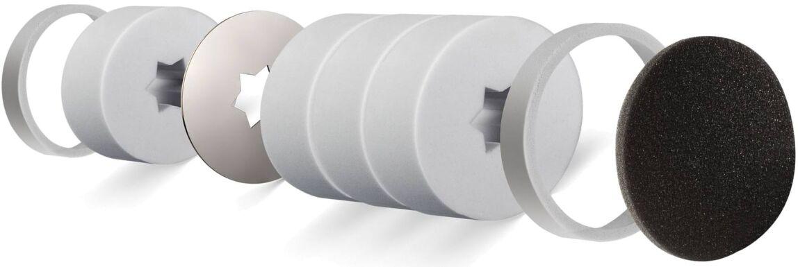 Schalldämm-Außenwand-Luftdurchlass mit u.a. Basotect-Schalldämm-Elementen