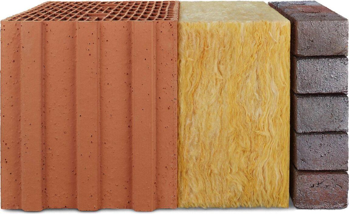 Eco-Brick im zweischaligen Mauerwerk