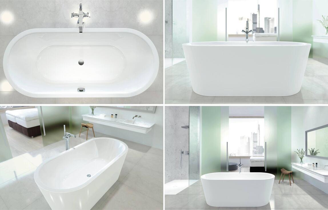 classic duo oval klassiker und archetyp einer frei stehenden badewanne neu interpretiert. Black Bedroom Furniture Sets. Home Design Ideas