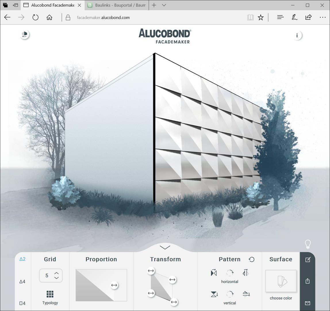 """Fassadengestaltung software kostenlos  Spielen ausdrücklich erwünscht: """"Facademaker"""" von 3A Composites ..."""
