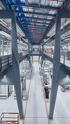 Sartorius Produktionshalle für Laborinstrumente in Göttingen
