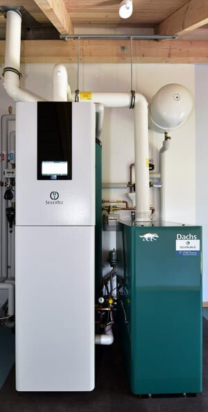 Brennstoffzellenheizgerät Dachs InnoGen von SenerTec