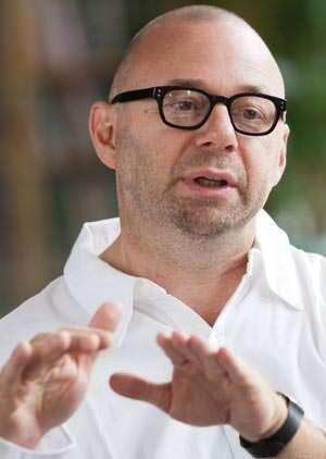 Erwin van Handenhoven, leitender Designer bei Hager
