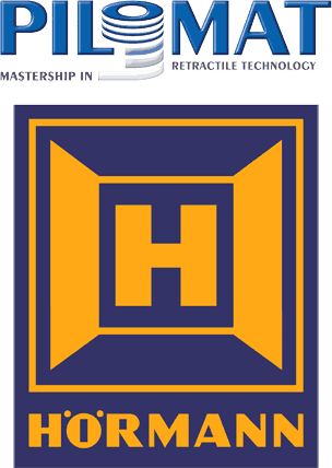 Pilomat und Hörmann Logo