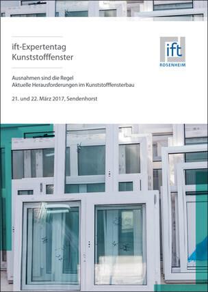 Flyer zum ift-Expertentag Kunststofffenster