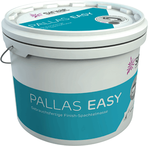 Pallas easy - pastöse Spachtelmasse