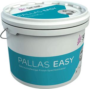 Pallas easy - pastöse Spachtelmasse
