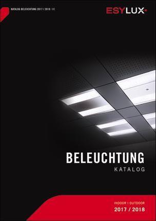 """Esylux-Katalog """"Beleuchtung 2017/ 2018"""""""