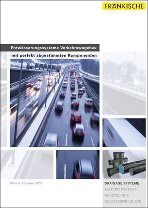 Entwässerungssysteme Verkehrswegebau