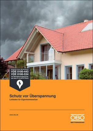 Schutz vor Überspannung - Leitfaden für Eigenheimbesitzer