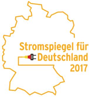 Logo vom Stromspiegel für Deutschland 2017