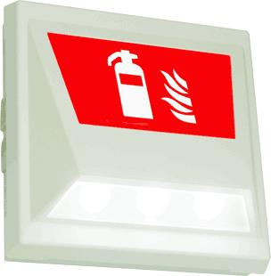 kombinierte Sicherheits- und Sicherheitszeichen-Leuchte SNP 2004.1