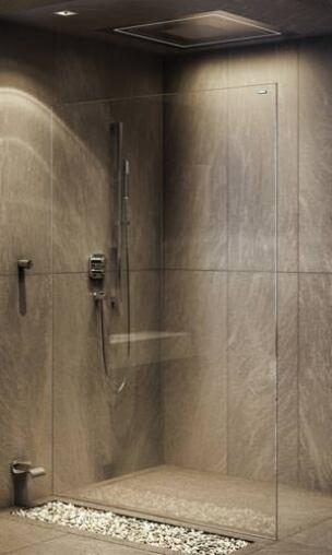 Air 2 von duscholux die wohl minimalistischste duschwand - Duscholux duschwand montageanleitung ...