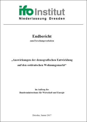 Auswirkungen der demografischen Entwicklung auf den ostdeutschen Wohnungsmarkt