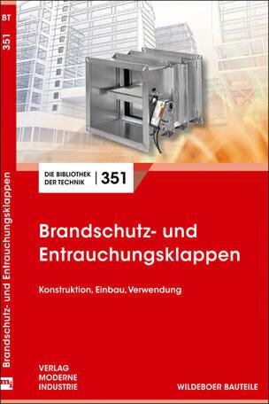 """Fachbuch """"Brandschutz- und Entrauchungsklappen"""""""