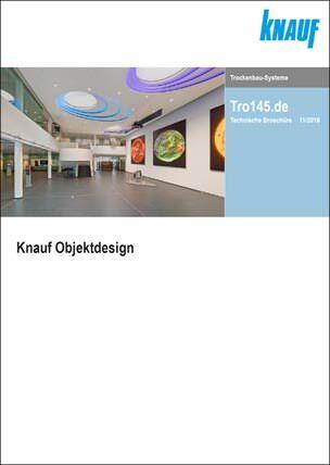 """Titel der Knauf-Broschüre """"Objektdesign"""""""