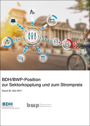 BDH/BWP-Position zur Sektorkopplung und zum Strompreis