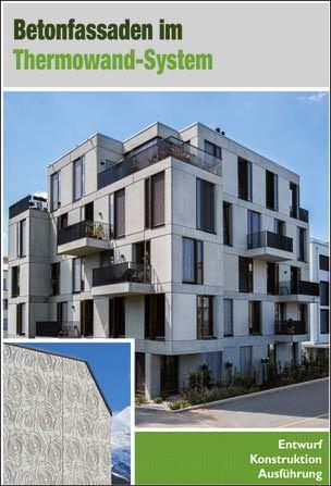 "Architektenhandbuch ""Betonfassaden im Thermowand-System"""