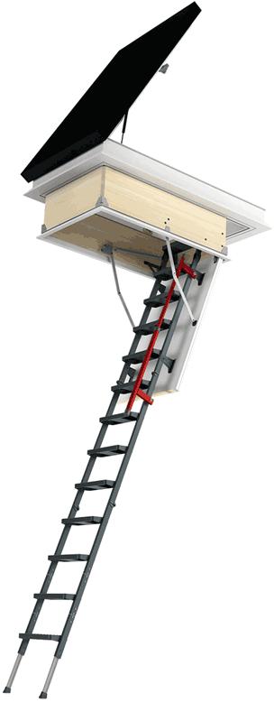 Flachdach-Ausstieg