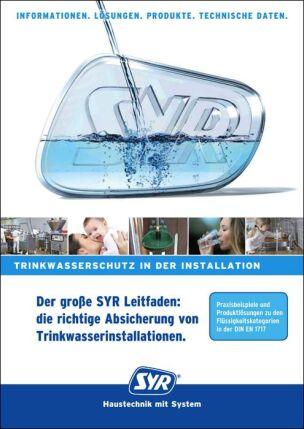 """Leitfaden """"Die richtige Absicherung von Trinkwasserinstallationen"""""""