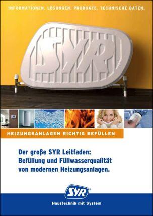 """Leitfaden """"Befüllung und Füllwasserqualität von modernen Heizungsanlagen"""""""