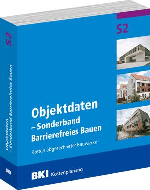 """BKI-Sonderband """"Objektdaten Barrierefreies Bauen"""""""