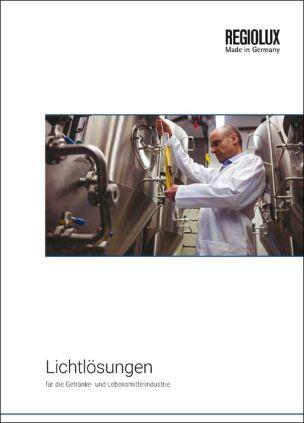 """Broschüre """"Lichtlösungen für die Getränke- und Lebensmittelindustrie"""""""