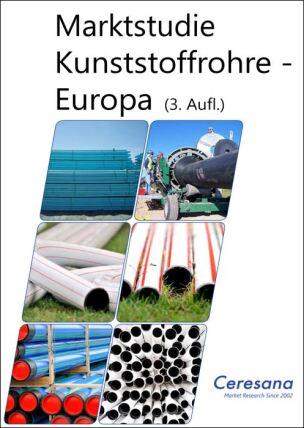 Ceresana-Report zum europäischen Markt für Kunststoffrohre