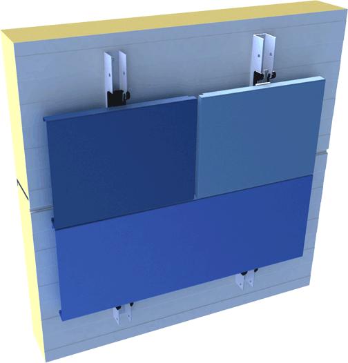 Hybrid-FC Fassade