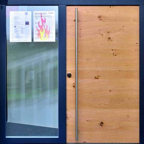 U Wert Eingangstür: Neue Vakuumgedämmte Außentür Von Variotec Trotzt Feuer
