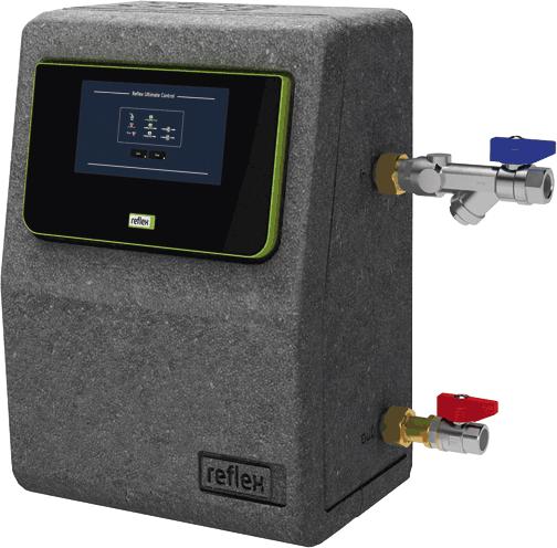 Reflex Servitec Mini - Vakuum-Sprührohrentgasung