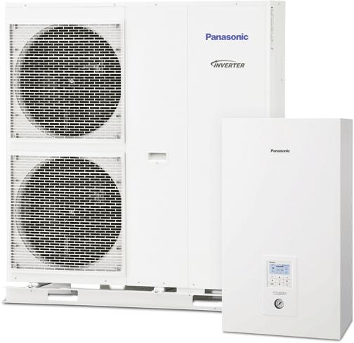 Aquarea T-CAP SQ-Wärmepumpe von Panasonic