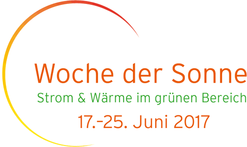 Woche der Sonne 2017 vom vom 17. bis 25. Juni
