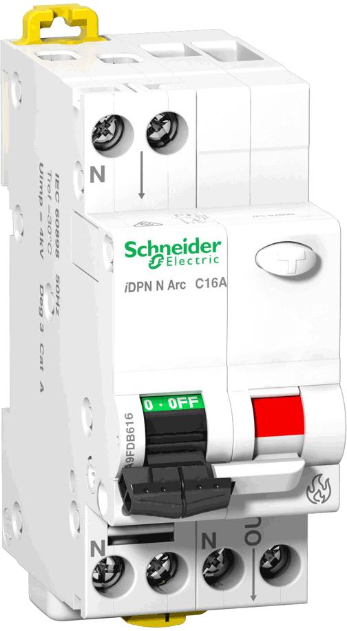 Arc Fault Detection Device (AFDD) iDPN N Arc - Brandschutzschalter von Schneider Electric