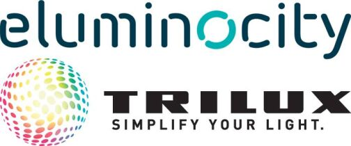 Logos von Eluminocity und Trilux