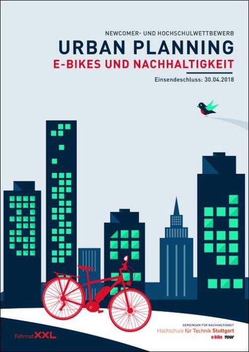 """Ideenwettbewerb zum Thema """"Urban-Planning: E-Bikes und Nachhaltigkeit"""""""