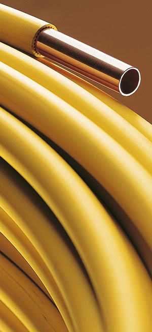 Gut gemocht WICU-Kupferrohr jetzt auch in Gelb für Gasinstallationen KN54
