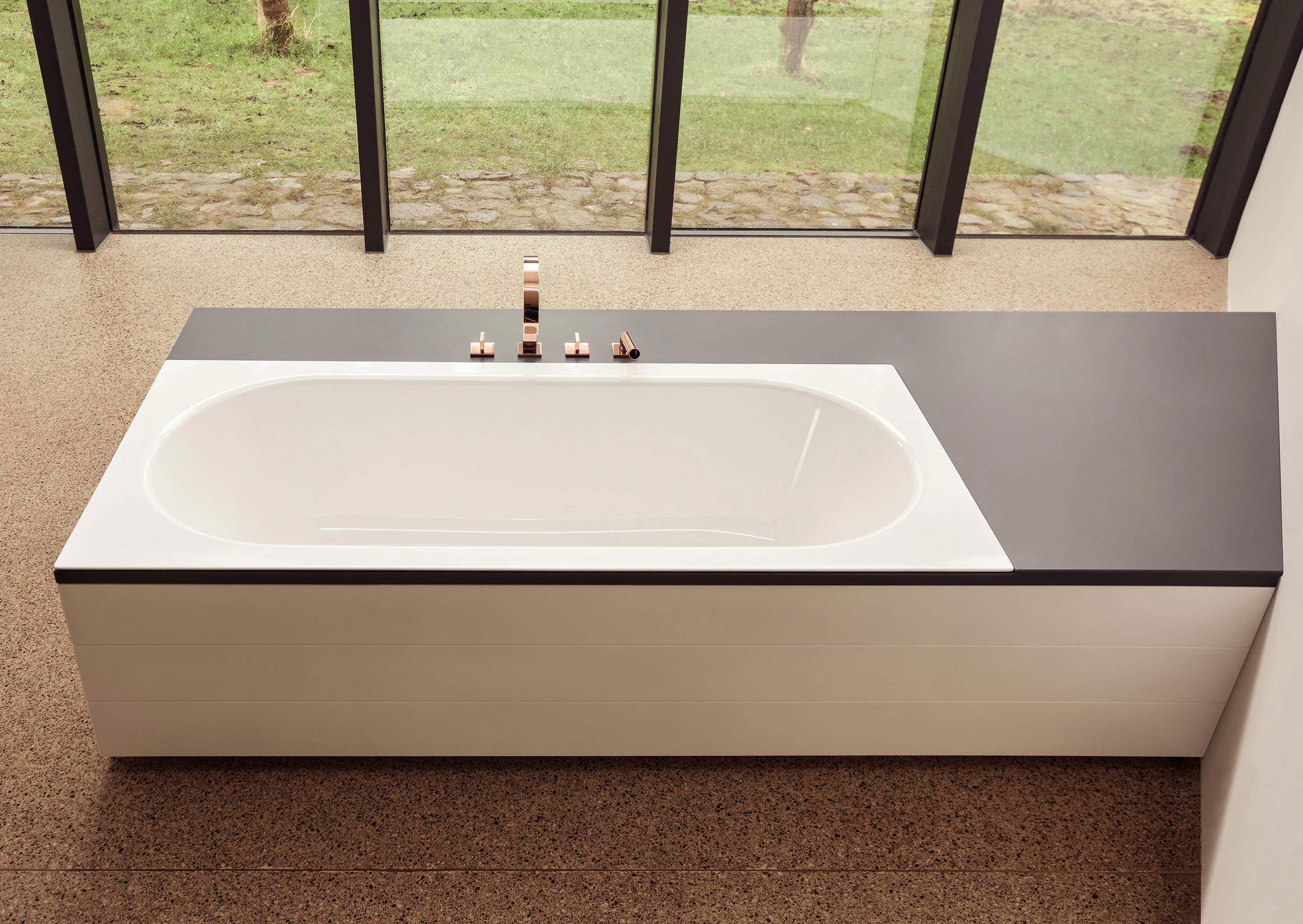 bettestarlet spirit badewannenklassiker mit filigranem wannenrand. Black Bedroom Furniture Sets. Home Design Ideas