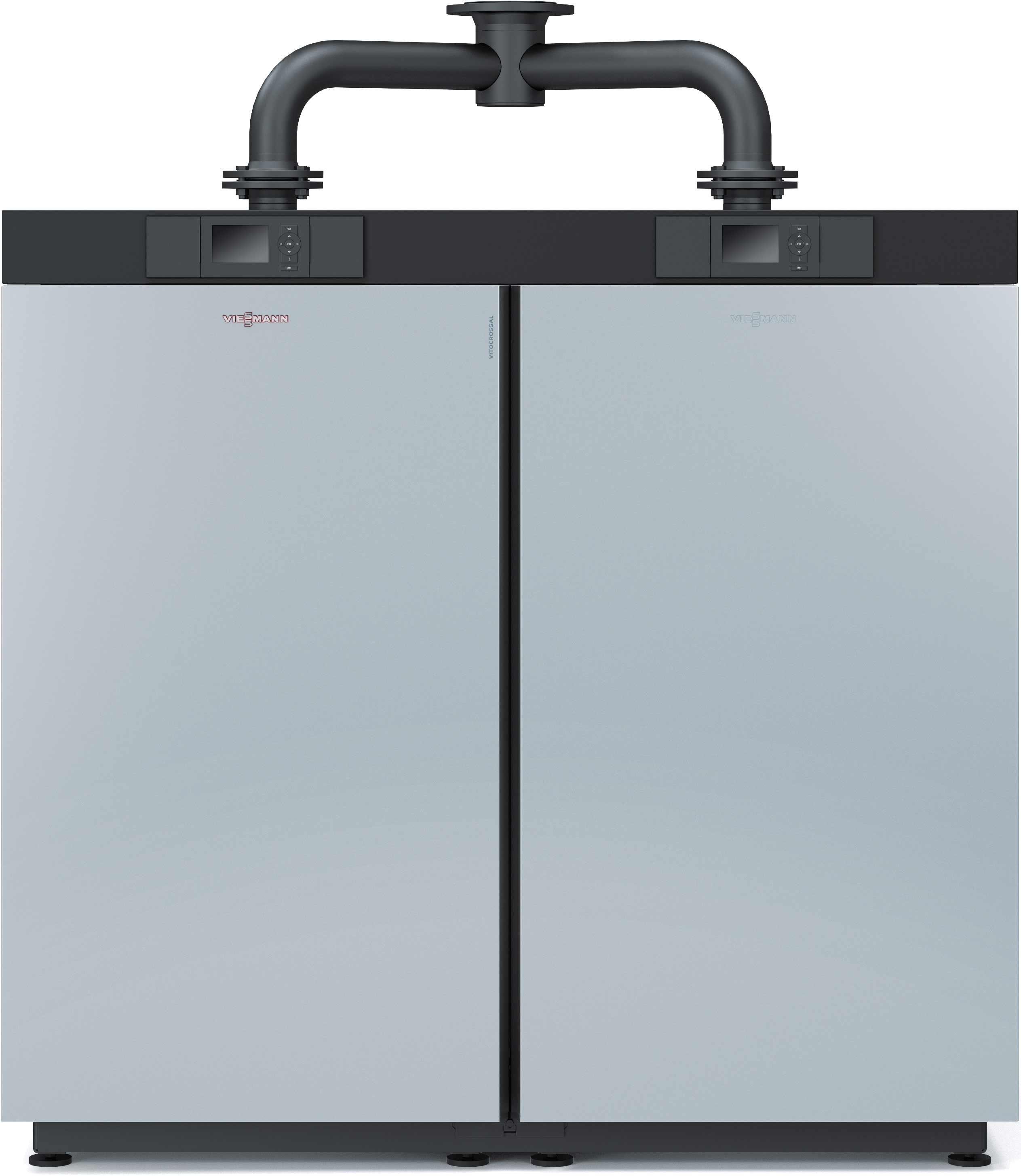 neuer gas brennwert kessel von viessmann leistet im duett bis zu 636 kw. Black Bedroom Furniture Sets. Home Design Ideas