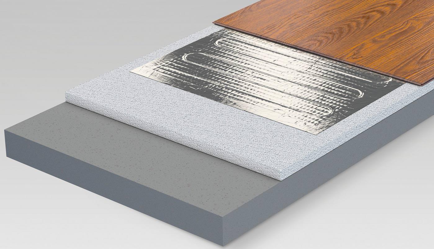 elektro fussbodenheizung. Black Bedroom Furniture Sets. Home Design Ideas