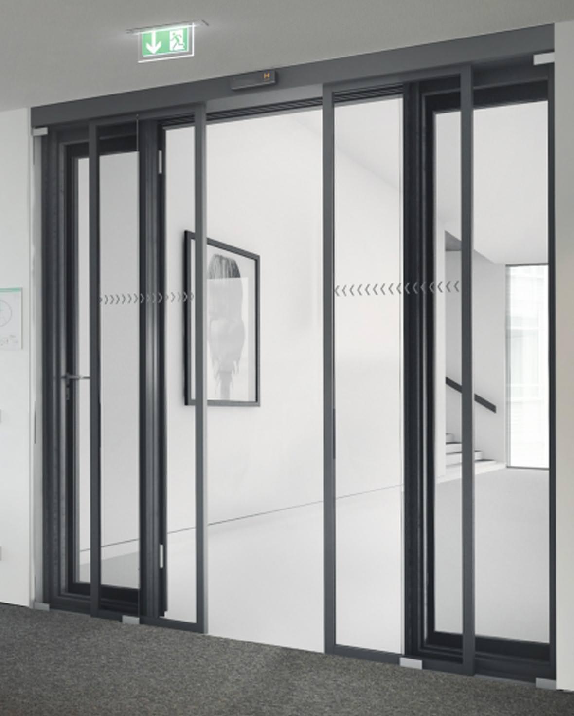 brandschutz fluchtweg transparenz und barrierefreiheit unter einem sturz. Black Bedroom Furniture Sets. Home Design Ideas