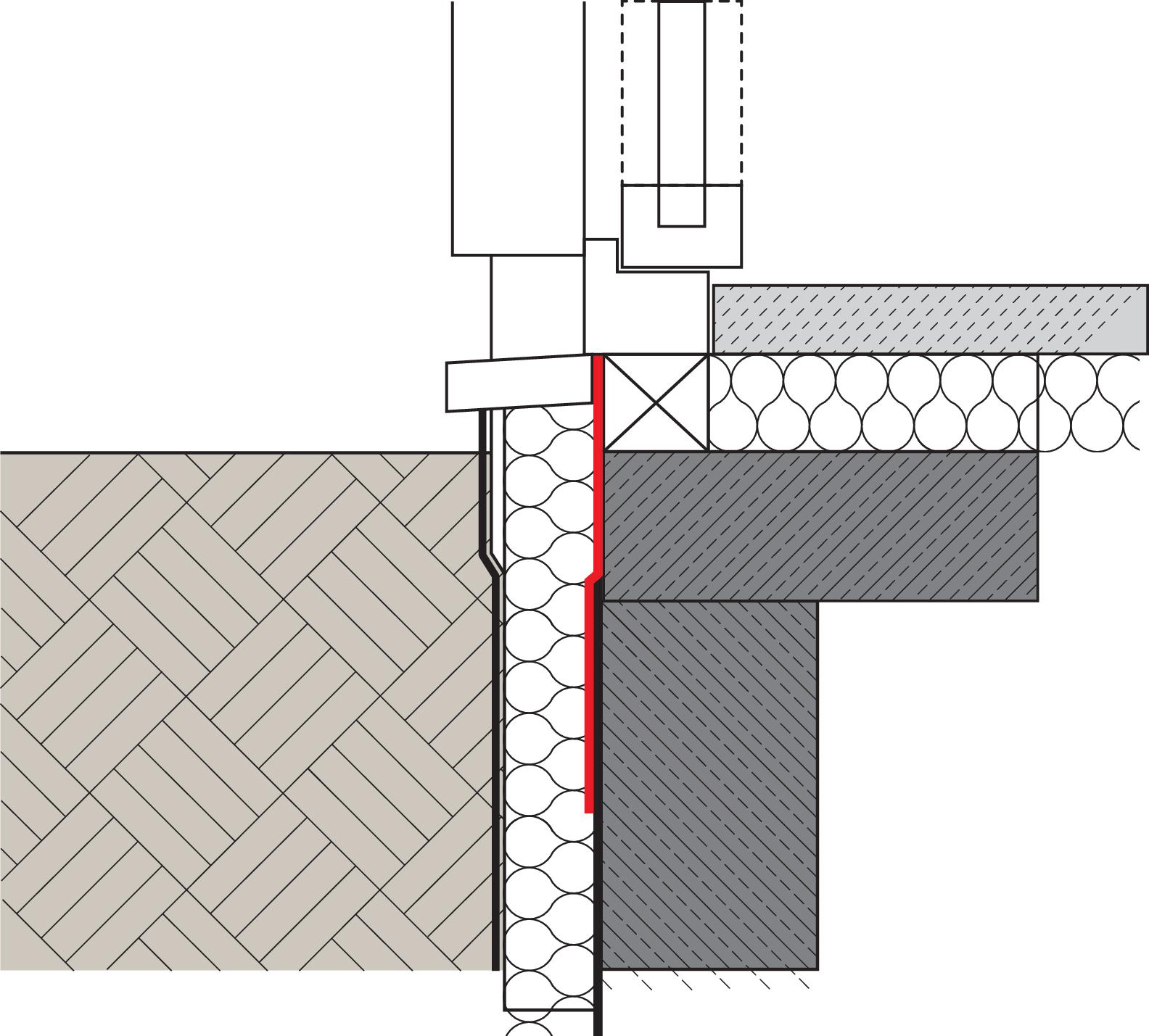Relativ MB 2K zur Abdichtung bodentiefer Fenster à la Remmers GV81
